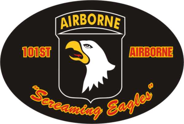 101st Airborne Oval Auto Magnet North Bay Listings