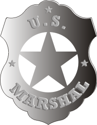 Stickers United States Marshal Decals