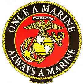 Once a Marine Always a Marine EGA Magnet | North Bay Listings