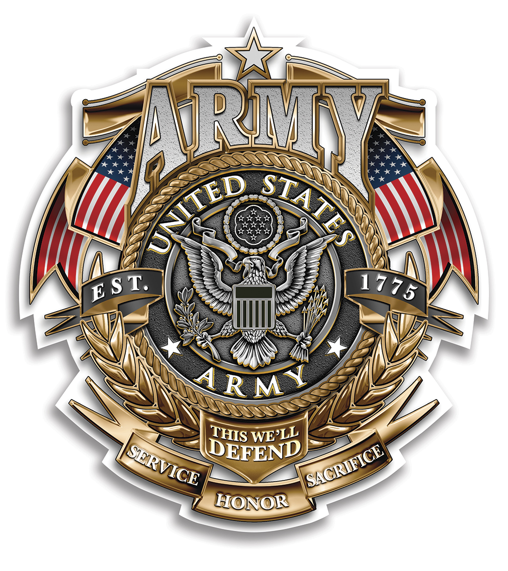 Army Gold Shield Badge Of Honor North Bay Listings