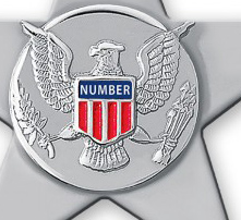 United States Marshal Police Badge Cut Out all Metal Sign