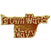 Brown Water Navy Script Pin North Bay Listings