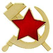 Russian Hammer and Sickle Pin | North Bay Listings