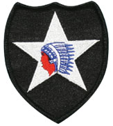 f5b8ece0197 Army 2nd Infantry Division Indian Head Patch