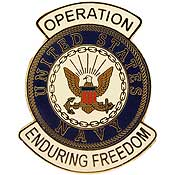 Navy Operation Enduring Freedom Pin | North Bay Listings