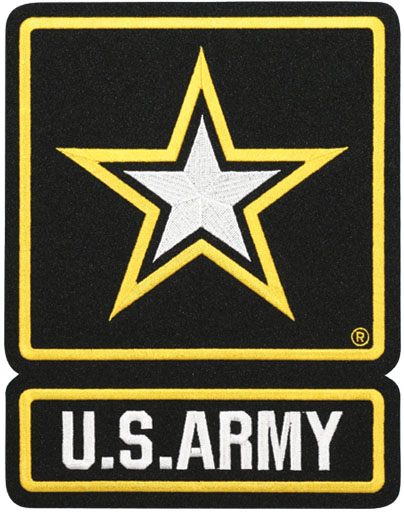 Us Army With Star Logo Large Patch North Bay Listings