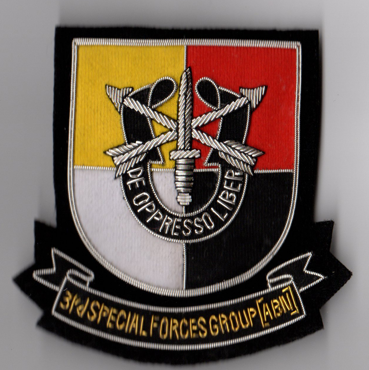 Special ops patches book
