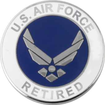 Us air force retired with wing lapel pin north bay listings us air force retired with wing lapel pin publicscrutiny Choice Image