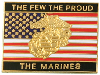 The Few The Proud The Marines With Flag And Ega Pin North Bay Listings
