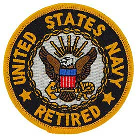 Navy Retired Logo Patch North Bay Listings