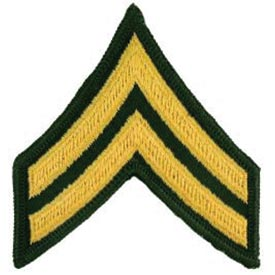 Army E4 Corporal Rank Patch | North Bay Listings