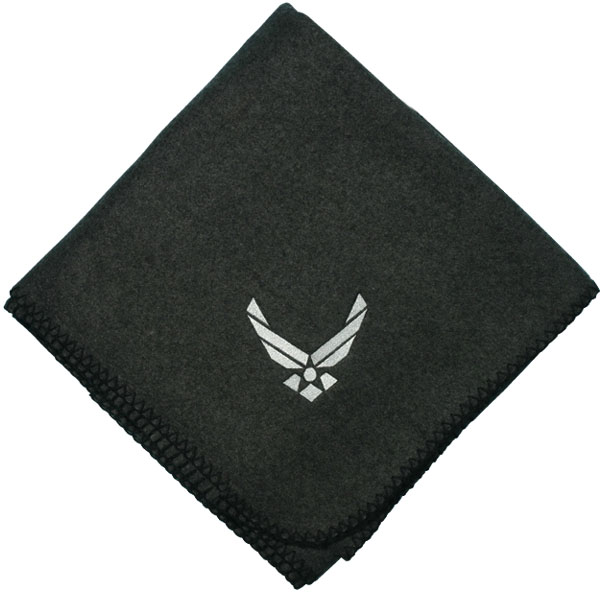 Air Force Hap Arnold Wing Logo Direct Embroidered Charcoal