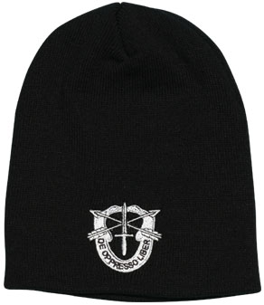 0b22f2278dd Special Forces Direct Embroidered Skull Cap