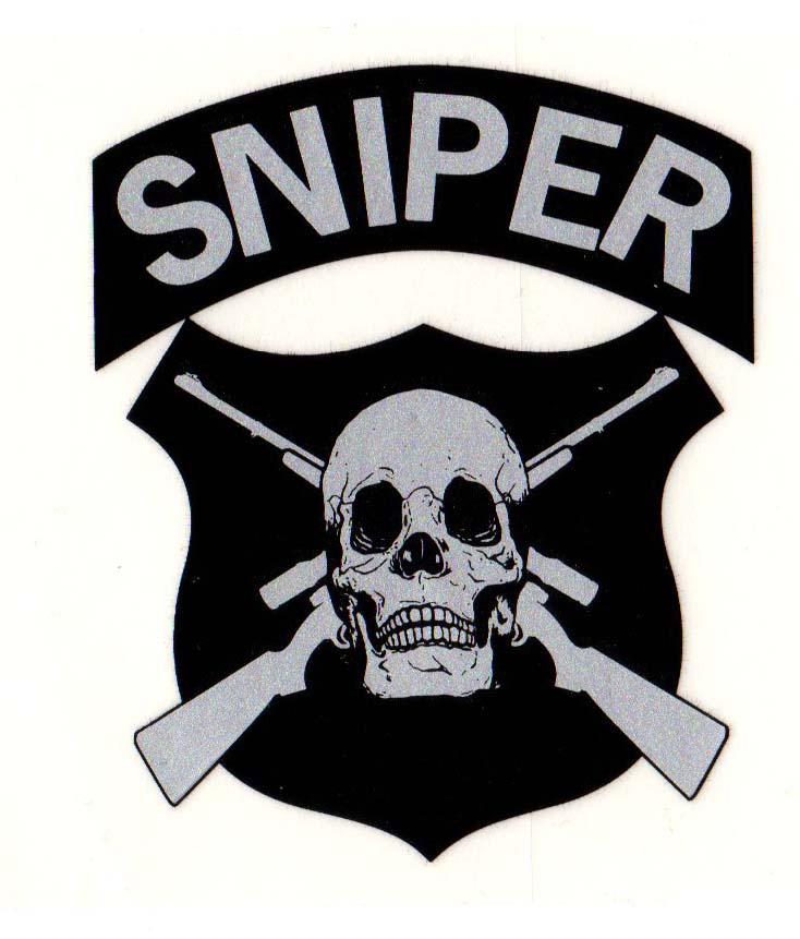 sniper decal cross rifle skull north bay listings rh norbay com cool sniper logos sniper logo hats