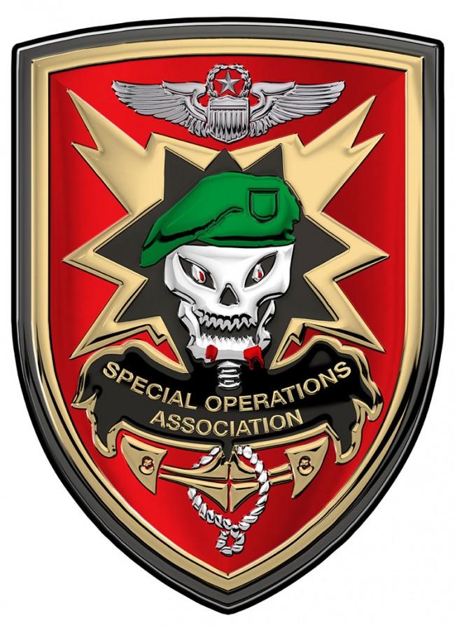 Special Operations Association Soa 18 X 12 Quot All Metal