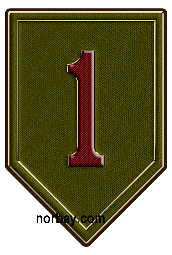 1st Infantry Division All Metal Sign North Bay Listings