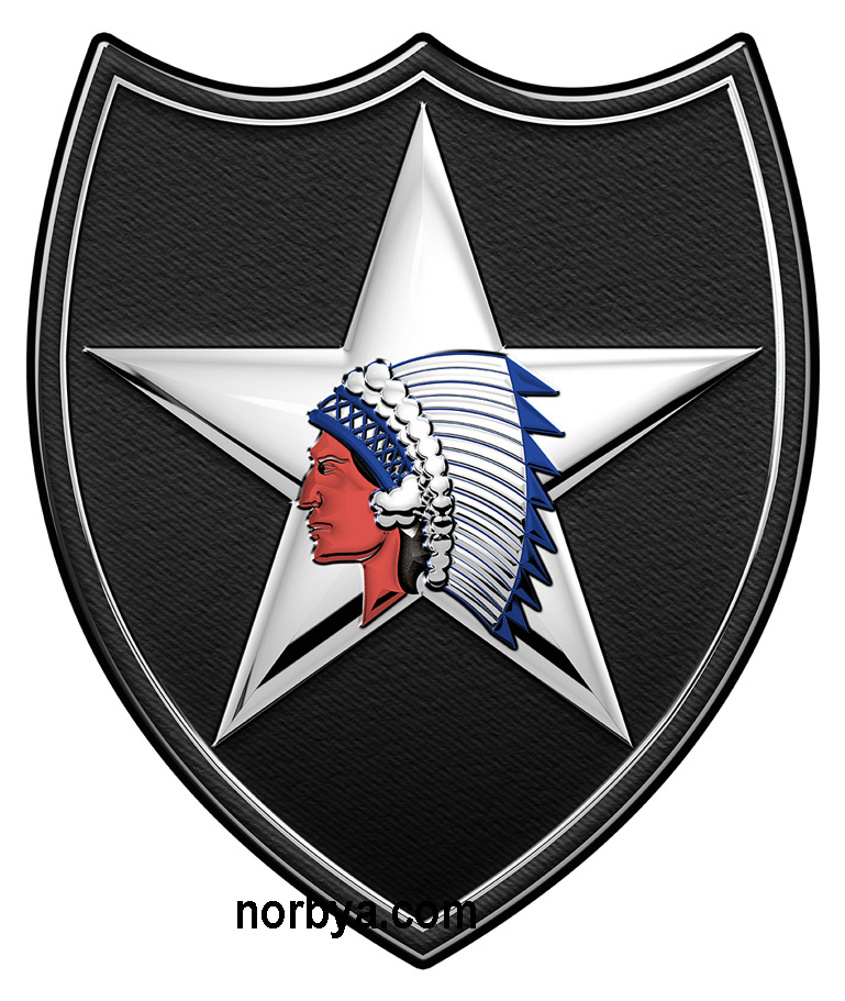 2nd Infantry Division All Metal Sign North Bay Listings
