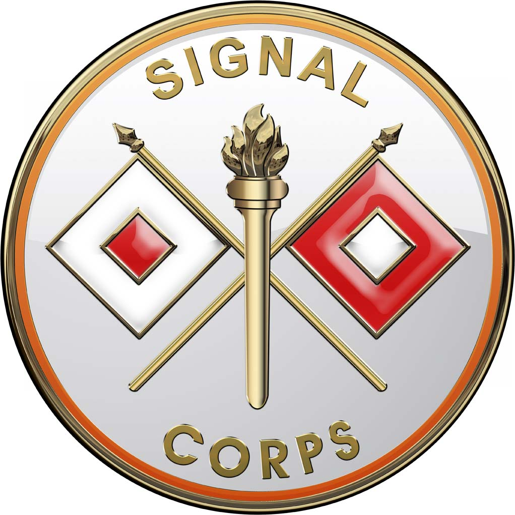Army Signal Corps All Metal Sign 14 Quot Round North Bay