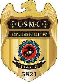 Usmc Cid Badge Color Decal North Bay Listings