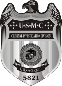 Usmc Cid Badge Decal