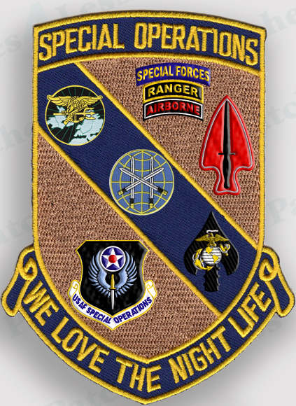 Us military special operations patches