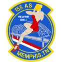 155th Airlift Squadron  Decal