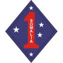 1st Marine Division Somalia Decal