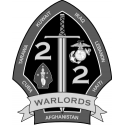 2nd Battalion 2nd Marines 2nd Marine Division - Subdued  Decal
