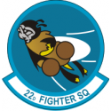 22nd Fighter Squadron Decal
