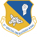 27th Special Operations Wing Decal