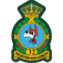 32nd Tactical Fighter Squadron  Decal