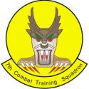 7th Combat Training Squadron  Decal