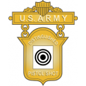 Army Distinguished Pistol Shot  Decal