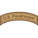 U.S. Paratrooper Tab  Decal