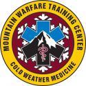 MOUNTAIN WARFARE COLD WEATHER MEDICINE DECAL