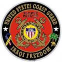 US Coast Guard Iraqi Freedom Decal