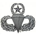 Airborne Parachutist Senior Decal (Small)