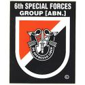 Special Forces 6th Group Decal