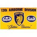 13th Airborne Flag