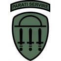 Georgia State Defense Force Subdued  Decal