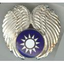 Flying Tigers Silver Hat Badge