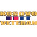 Kosovo Veteran Ribbon Decal