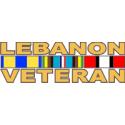 Lebanon Veteran Decal -2