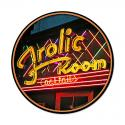 Frolic Room Sign  Round