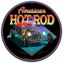 AMERICAN HOT ROD All Metal Sign