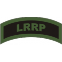 LRRP Decal Green on Black