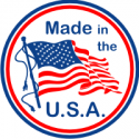 Made In The USA - Round Decal