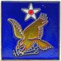 Army Air Corps WWII 2nd Air Force Pin