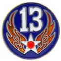 Army Air Corps WWII 13th Air Force PACIFIC Pin