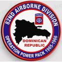 82nd Airborne Division Operations Power Pack  Patch